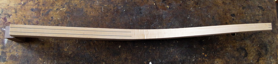 Shaping the rear legs: Extend the layout of the octagon up the back of the bottom half of the rear legs