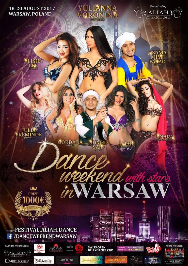 """Participação no Festival """"Dance Weekend in Warsaw"""" - Competição e Formação    Participation in the Festival """"Dance Weekend wth Stars in Warsaw""""- Competition and Workshops"""
