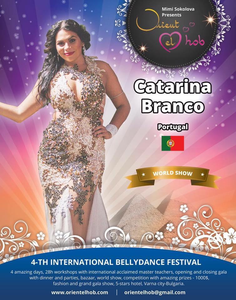 """Atuação na Gala Principal do Festival """"Orient El Hob"""" na Bulgária    Performance in the Main Gala of the Bulgarian Festival """"Orient el Hob"""""""