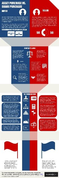 Business For Sale Assets vs Shares Infographic