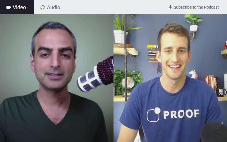Podcast Interview Screenshot
