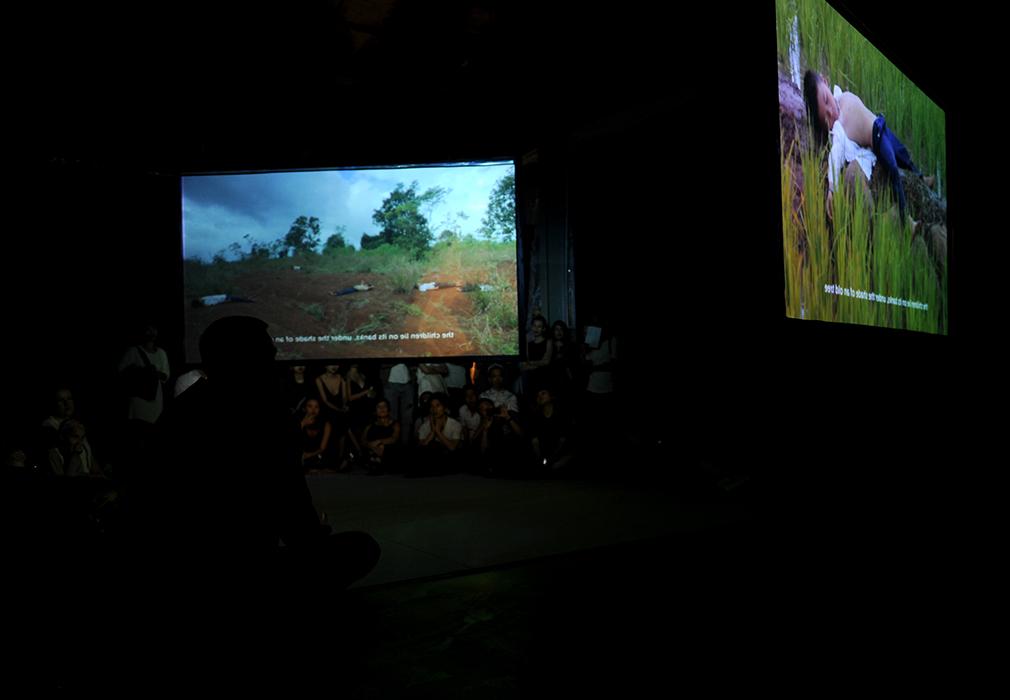 Tropical Siesta  Installation view