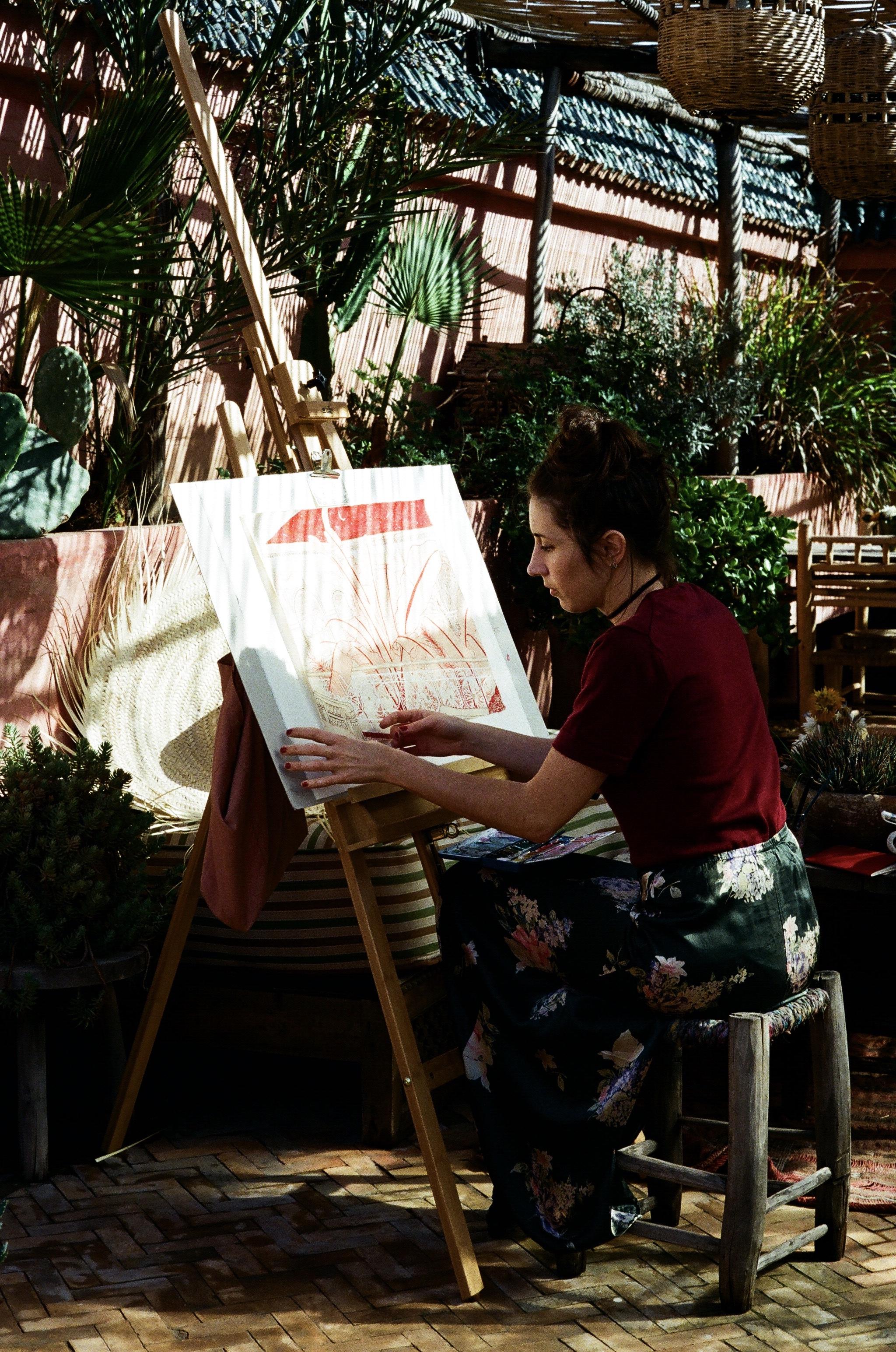 Maia Bunge - Riad Jardin Secret - Marrakech