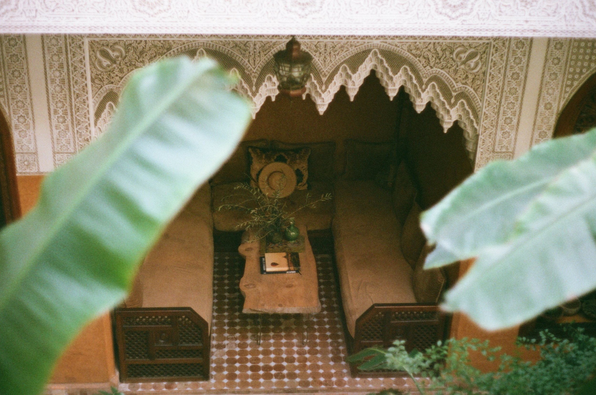 Riad Jardin Secret - Marrakech Patio.JPG