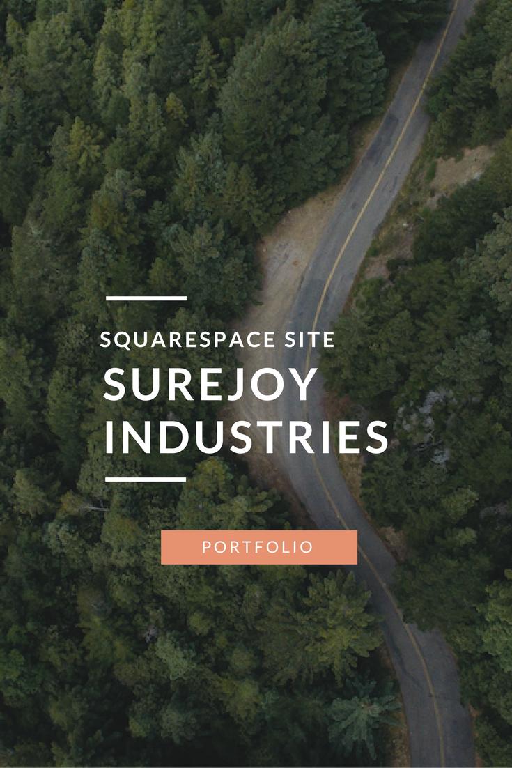 Surejoy-Industries-Squarespace-site