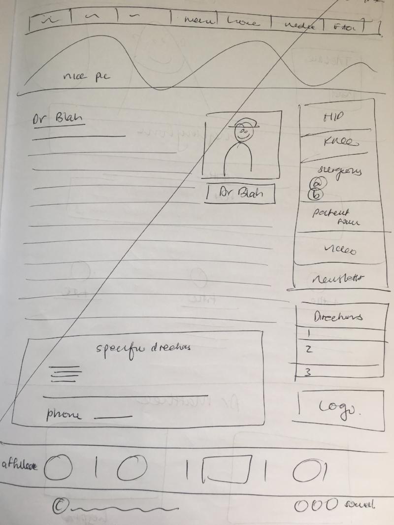Dr 'Blah' gets his own pencil drawn site!