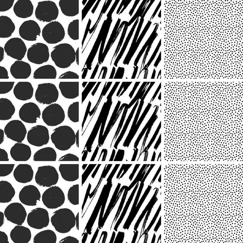 Instagram grid pattern