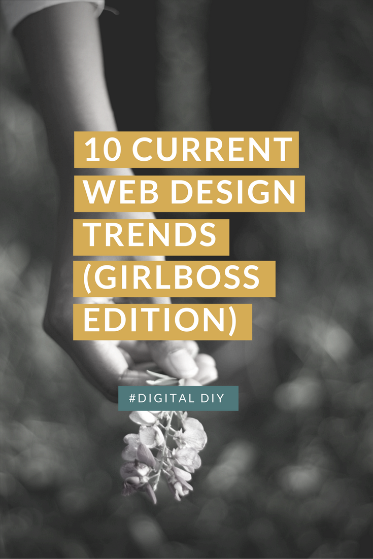trends+website+design+women