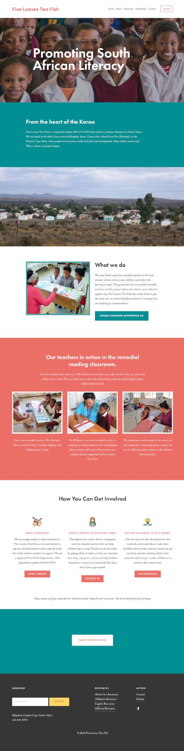 squarespace-NGO-website