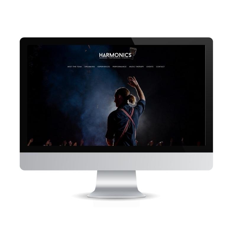 Harmonics-Squarespace-site