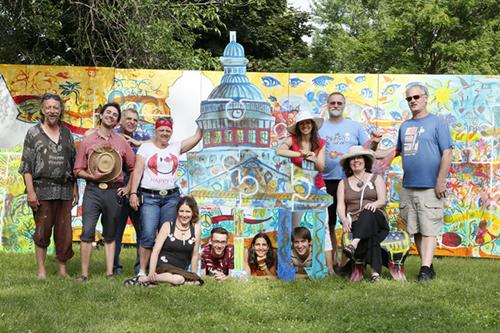 The Artfest Team - Artfest Kingston, 2014  Photo: Alan Ross