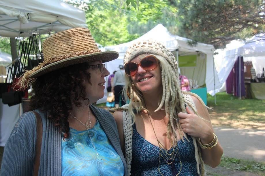 Lory MacDonald & daughter Devaki