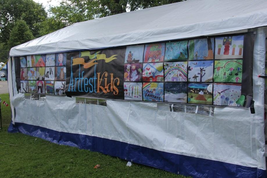Artfest Kids Tent