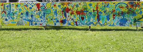 Kids Mural ~ Day 2