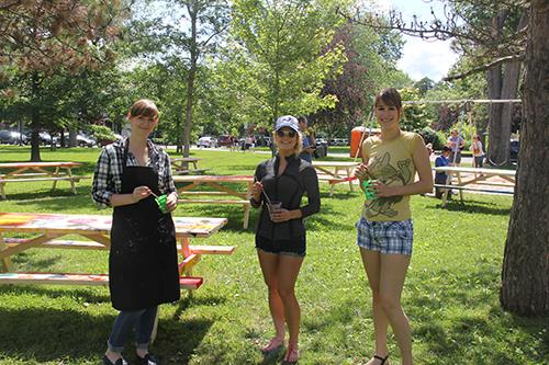Sabrina Parrish & the Big Sisters volunteers