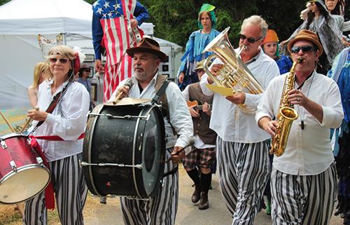 Shadowland Theatre Parade Band