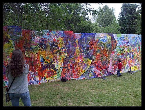 Artfest Mural ~ 2014 Kingston