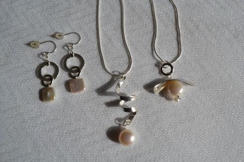 Luce Gilbert Artfest Extra #15 Pendentifs & Boucles Perles + Argent.jpg