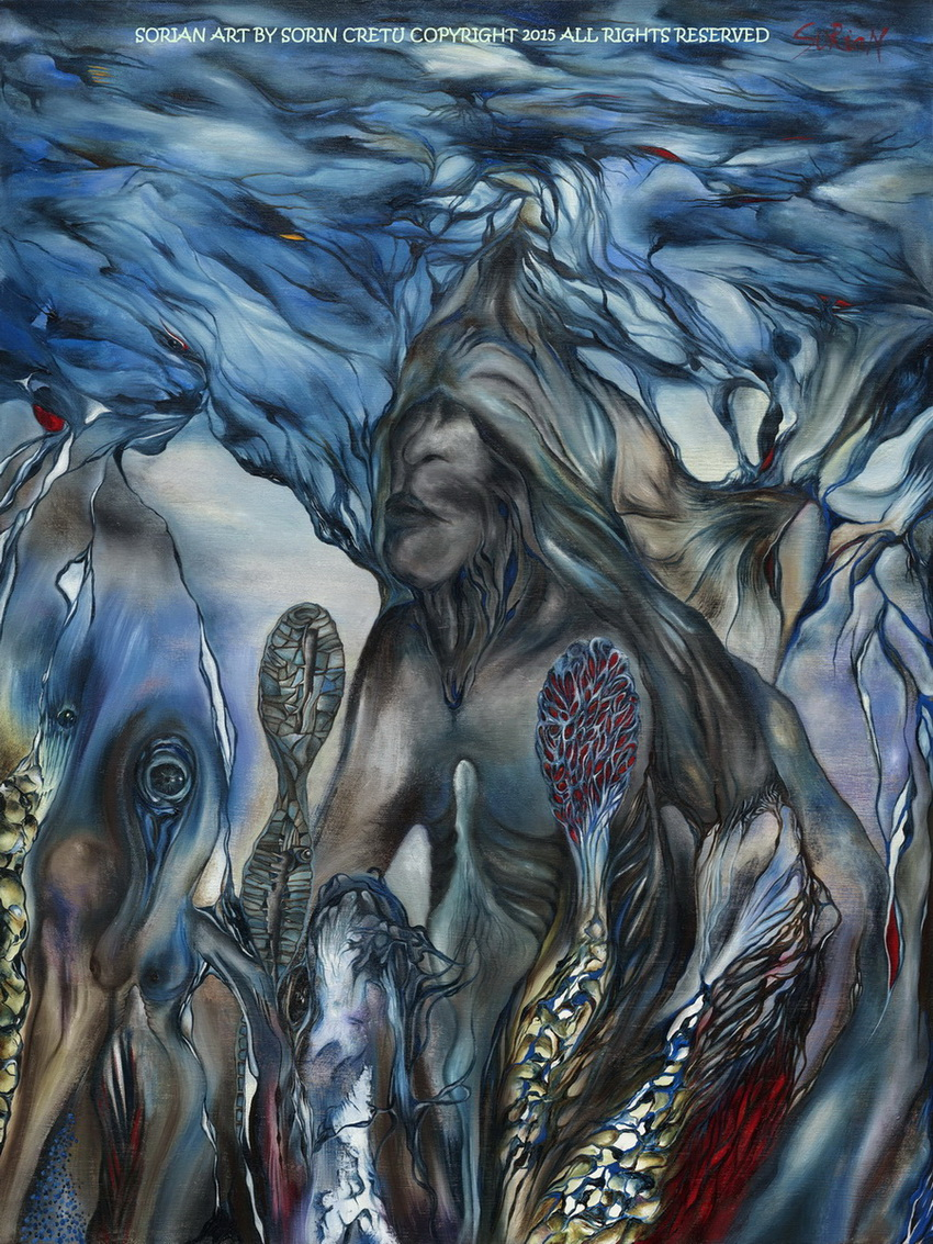 Visions of a shaman1 - SORiaN (Sorin Cretu) - 2015 - Size 40x30 inches.jpg
