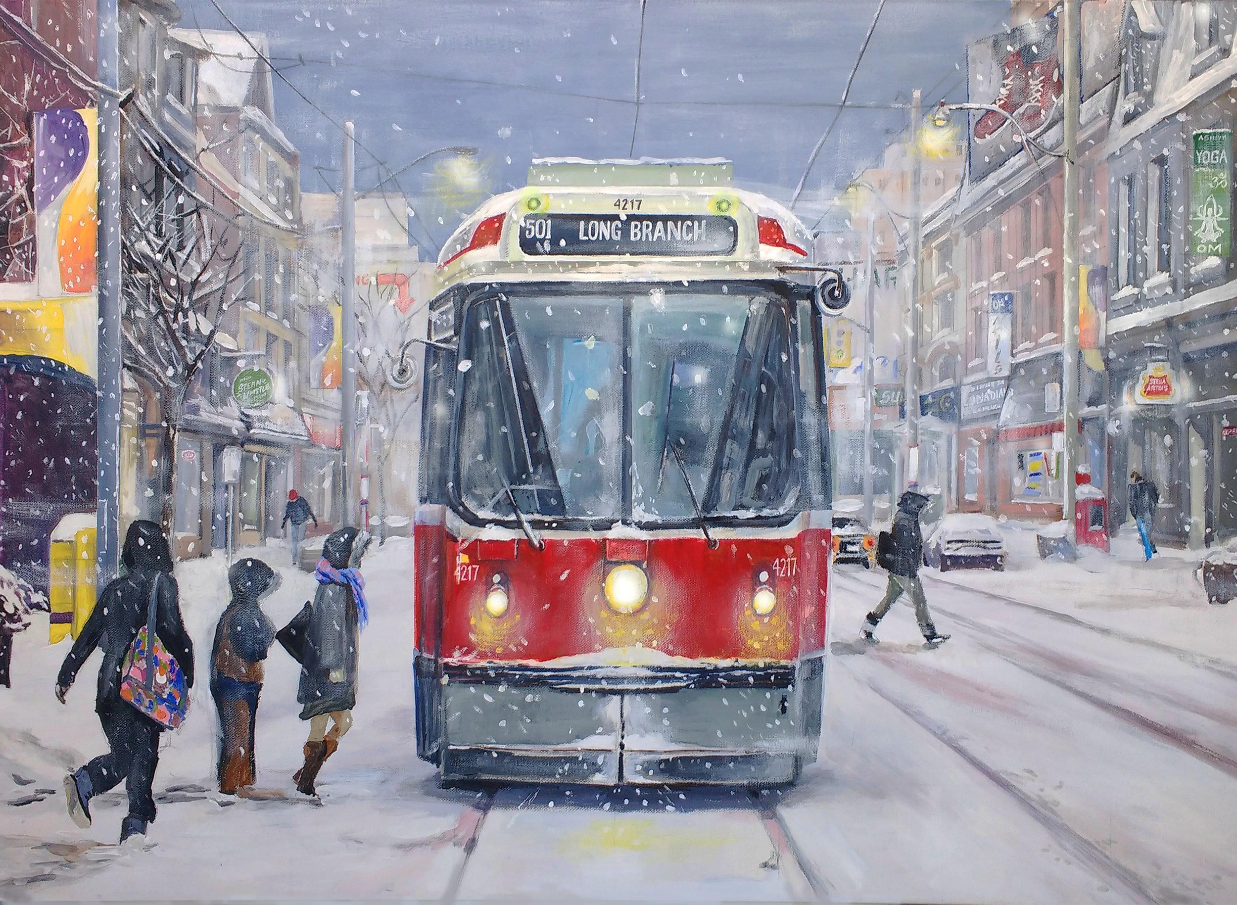 501 streetcar winter scene Toronto Illustrated.jpg
