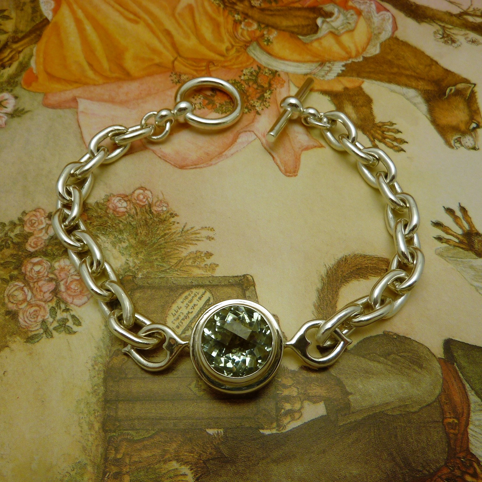 Naomi - green quartz toggle bracelet (2).JPG
