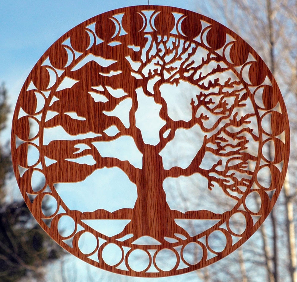Solar Woodcuts