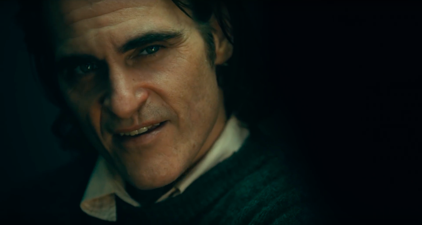 Joaquin Phoenix Close Up