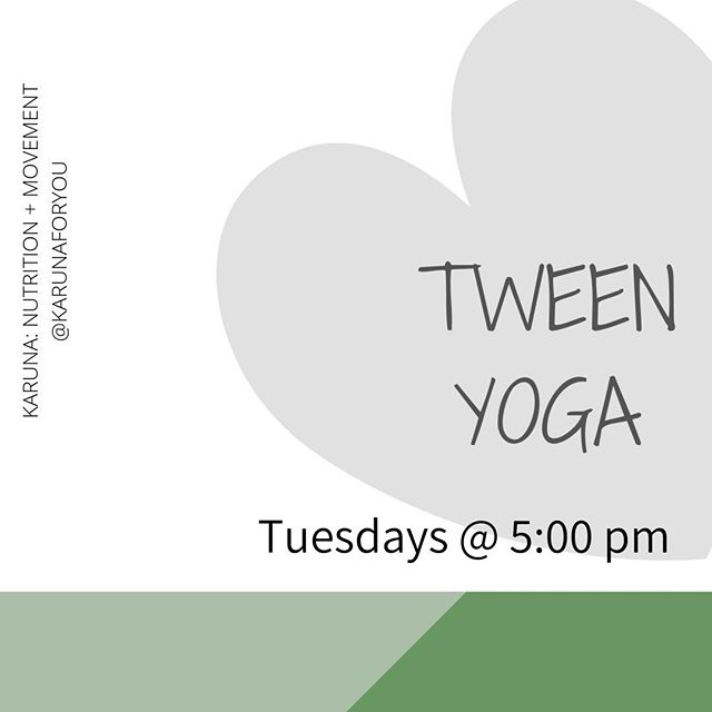 TWEEN YOGA⠀⠀⠀⠀⠀⠀⠀⠀⠀ Ilana Schlesinger, MA, RYT⠀⠀⠀⠀⠀⠀⠀⠀⠀ ::⠀⠀⠀⠀⠀⠀⠀⠀⠀ This is a yoga-based class designed for tweens all genders to learn how to move their bodies in a fun and uplifting way, develop more positive self-talk, and create a safe, enjoyable community.⠀⠀⠀⠀⠀⠀⠀⠀⠀ Each class will start with a self-esteem building activity, followed by body movement and end with a short meditation to practice breathing. This class is designed to support adolescents in developing inner and outer strength and finding the necessary tools to understand and manage their emotions, friendships, self-talk, body image, and identities in this world.⠀⠀⠀⠀⠀⠀⠀⠀⠀ ::⠀⠀⠀⠀⠀⠀⠀⠀⠀ Sign up for the waitlist! Link in bio.⠀⠀⠀⠀⠀⠀⠀⠀⠀ _____ ⠀⠀⠀⠀⠀⠀⠀⠀⠀ #norwood #norwoodma #joyfulmovement #exercise #familyexercise #familymovement #moveyourbody #fitfam #bodypositive #yoga #teenyoga #sportsnutrition #fitness #strengthtraining #intuitivemovement #intuitiveexercise #workout #nondiet #healthateverysize #intuitiveeating #mindfuleating #haes #selfcare #selfcompassion  #edawareness #eatingdisorderawareness #recoveryispossible #edrecovery #eatingdisorderrecovery #selfcare