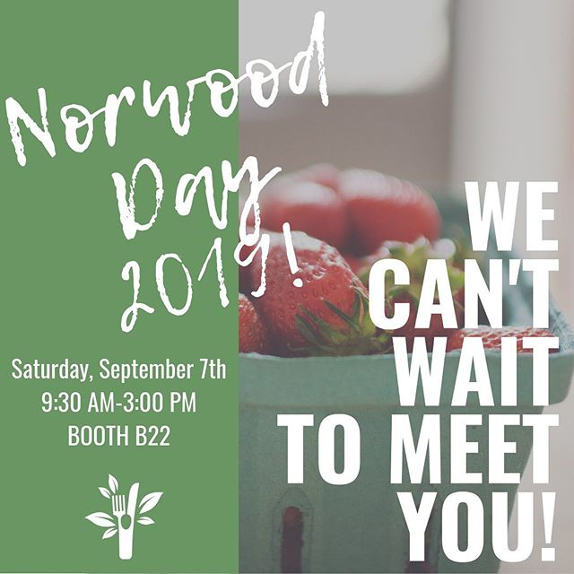 Tomorrow is Norwood Day 2019 and we can't wait ot meet you! Stop by Booth B22 (between Day and Vernon Streets), to learn more about Karuna: Nutrition + Movement, get some free swag and enter to win some $$ at our studio! ⠀⠀⠀⠀⠀⠀⠀⠀⠀ See you there! ⠀⠀⠀⠀⠀⠀⠀⠀⠀ ___________ #norwoodday #norwoodday2019 #norwoodma #smallbusiness #karunanutrition #karunamovement #karunaforyou