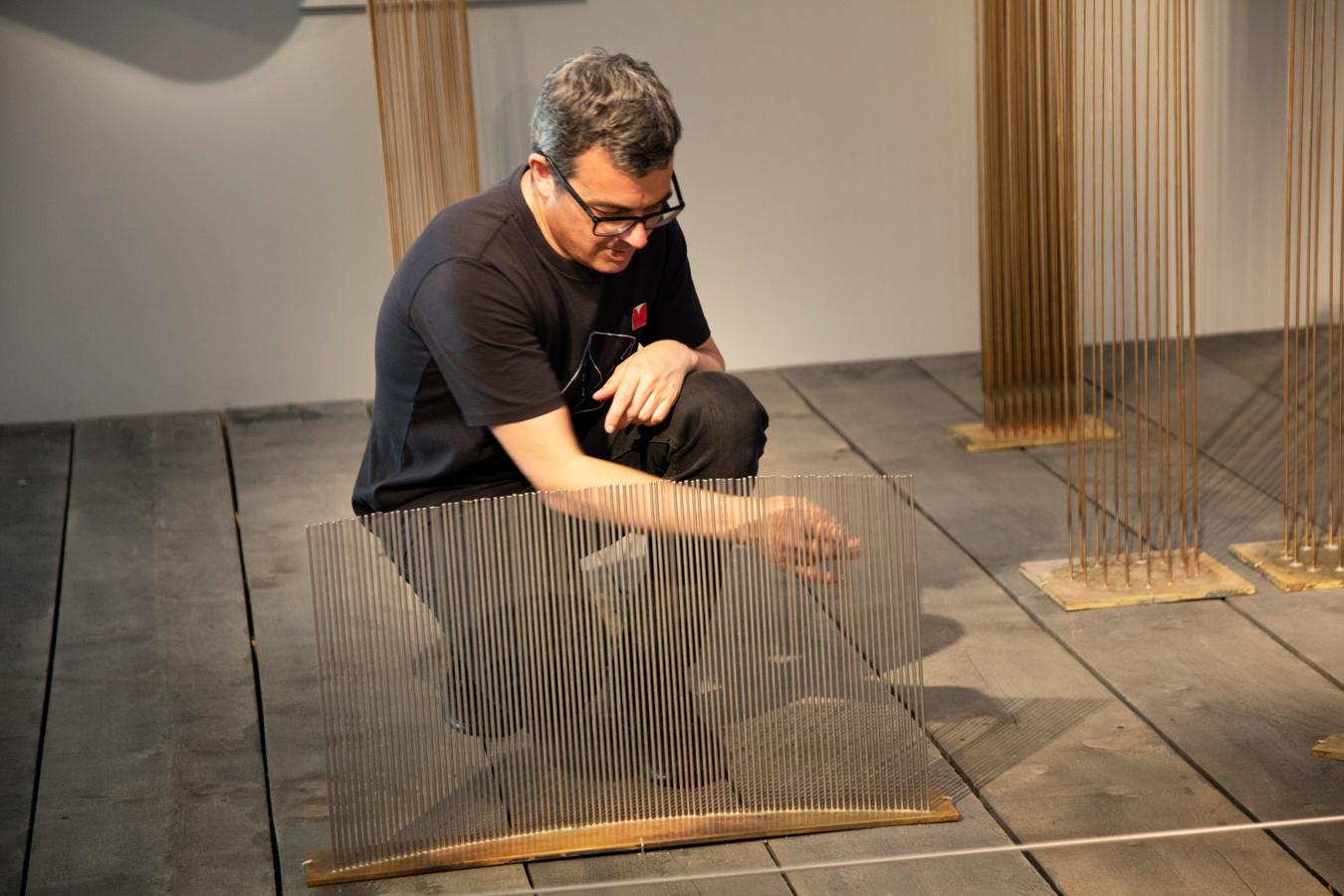 Val Bertoia Sounding Sculptures installation