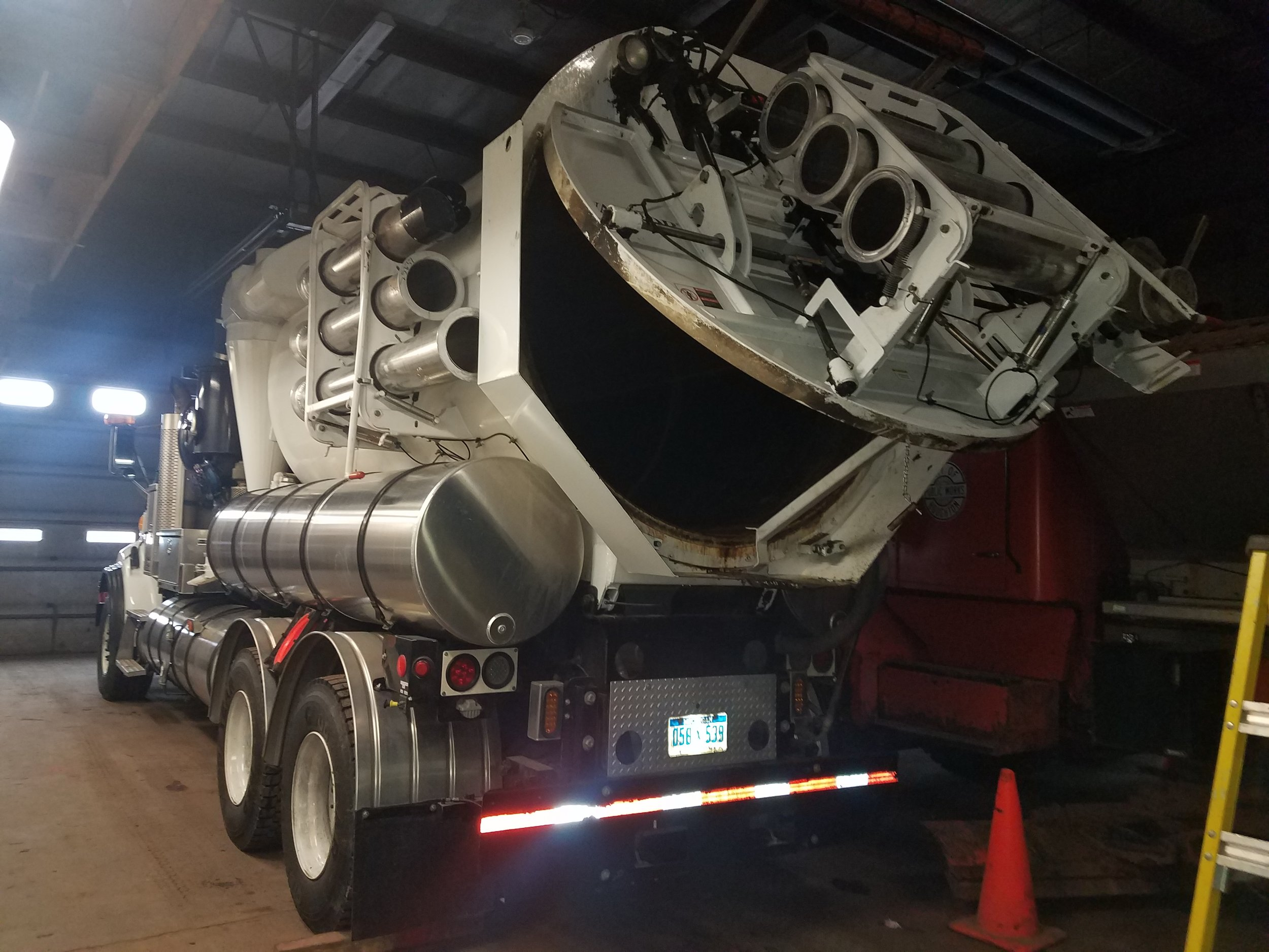 From repairs to the tank on a 12ft vactor truck
