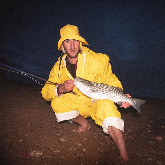 Confidence in an outfit. We had a matching set of these kits for fishing, ferry rides and the bar. . . . . . . #fashion #newengland #blockisland #chappaquiddick #marthasvineyard #woodshole #fishing #flyfishing #striper #stripers #striperfishing #stripedbass #bluefish