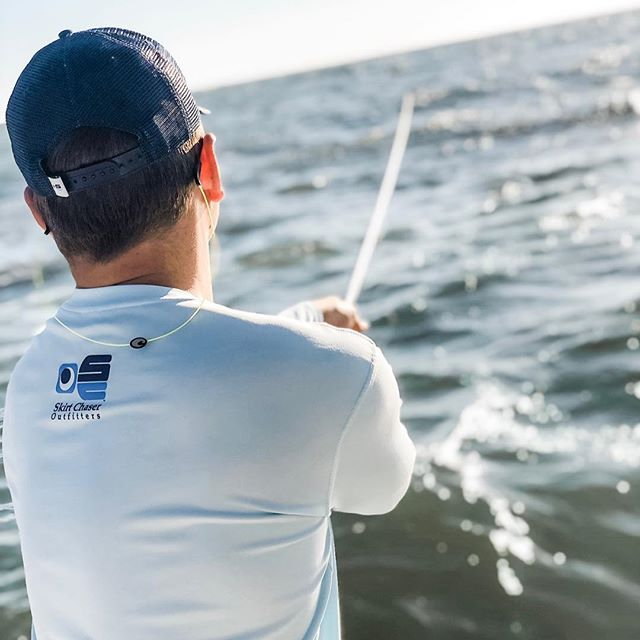 Wishing we were still casting into the weekend.  #skirtchaseroutfitters #performanceshirts #truckerhats #trucker #inshorefishing #redfish #snook #trout #sheepshead #offshore #offshorefishing #sportfishing #costadelmar #boat #boatlife #ocean #summer #beach #pathefinderboats #shimano