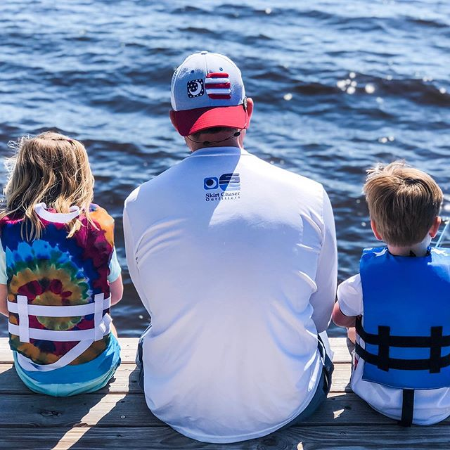 Happy Father's Day and Tight Lines!  #fathersdaygifts #fathersday #fishing #fatherson #fatherdaughter #inshorefishing #offshorefishing #performanceshirts #truckerhats #startthemyoung #summer