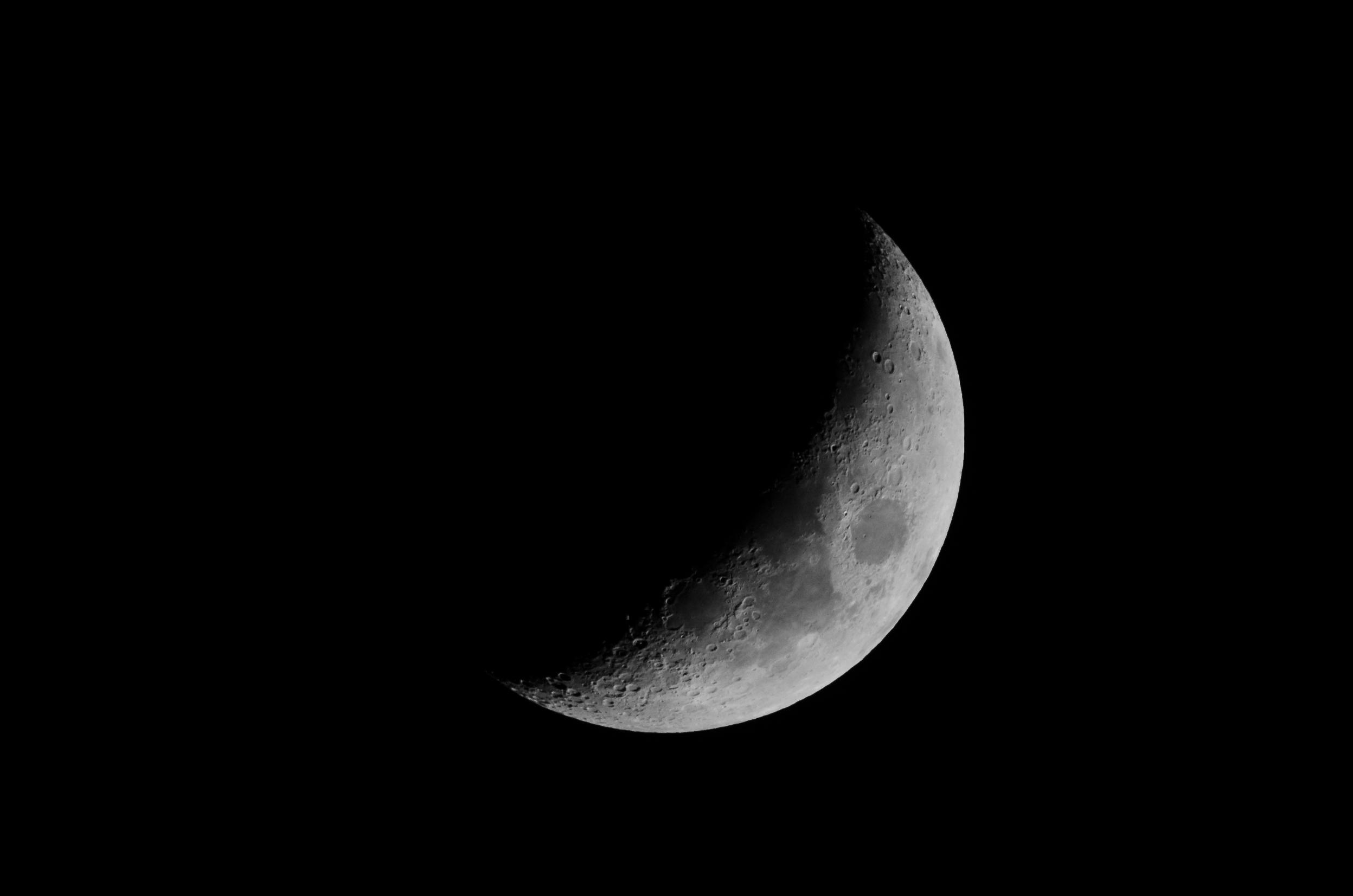 Waxing Moon  Nikon D7000 ISO 250 600mm f/10 1/250 sec