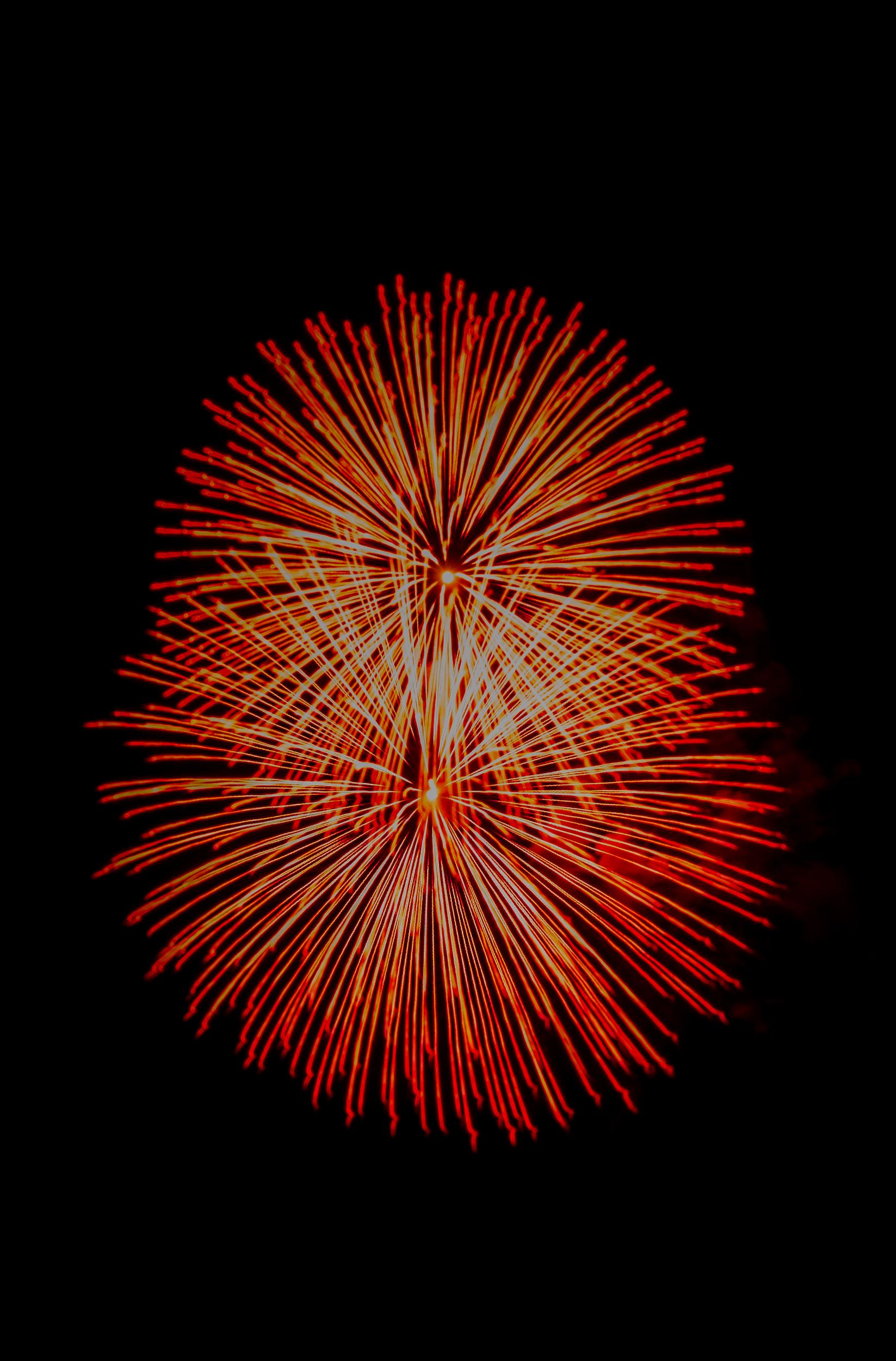 Rockets Red Glare  Nikon D7000 ISO 400 f/18 30mm 4 sec.