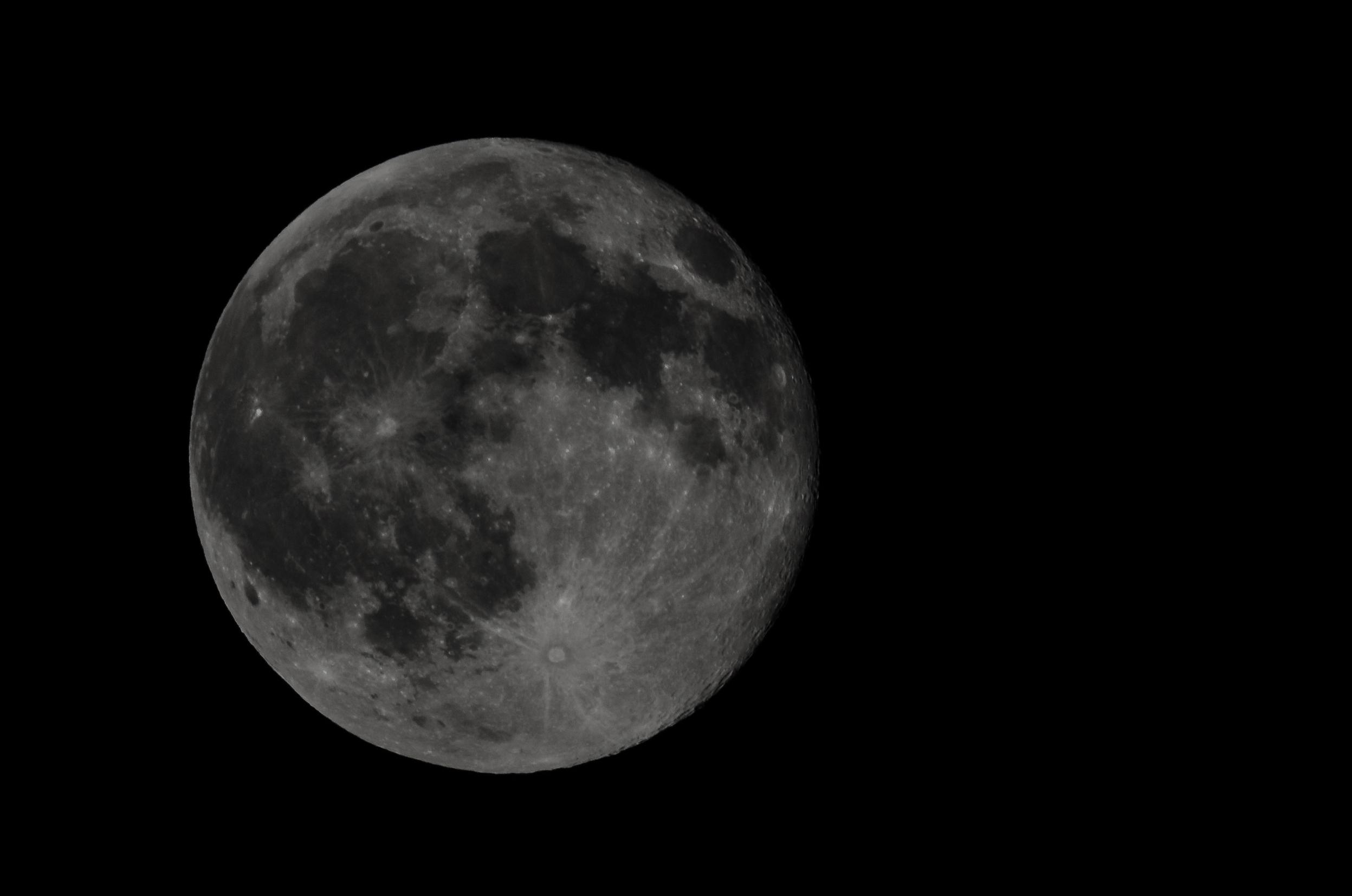 Blue Moon  Nikon D7000 ISO 100 600mm f/18 1/200 sec.
