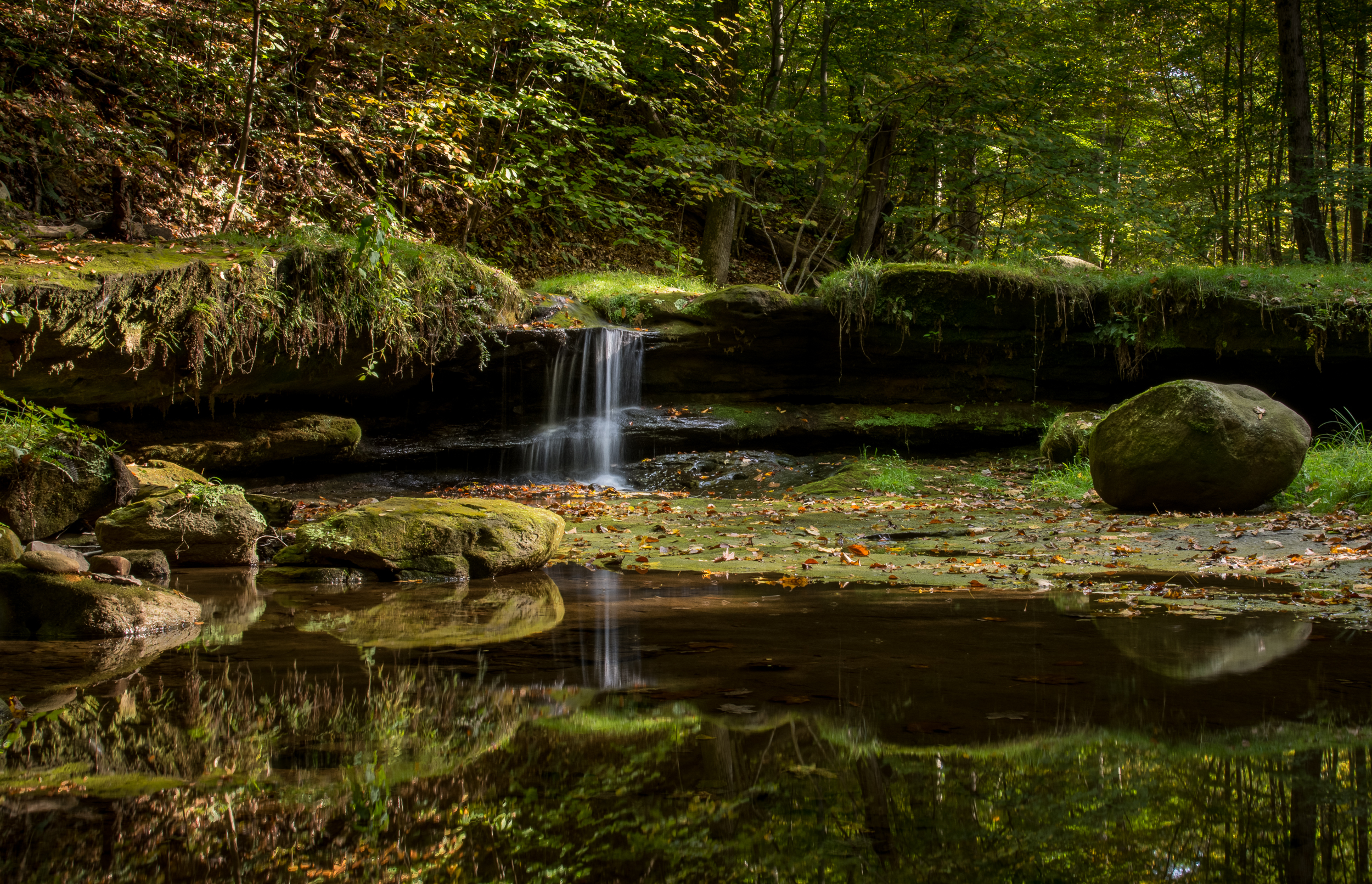 Camp Mowana Fall Falls  Nikon D610 ISO 800 38mm f/22 1/10 sec. HDR