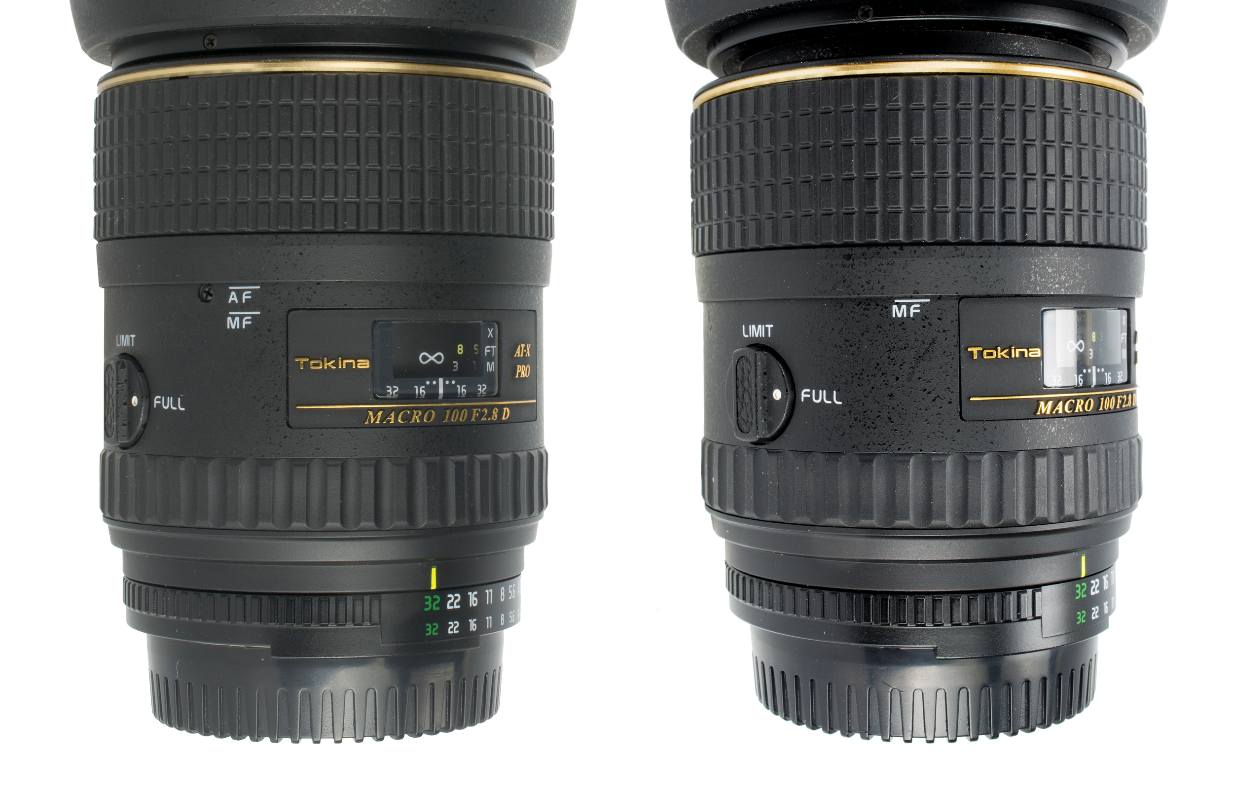One Touch Focus Clutch -Tokina 100mm f/2.8 Macro AT-X PRO D