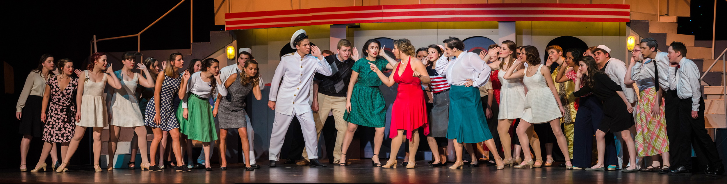 Anything Goes - Cast