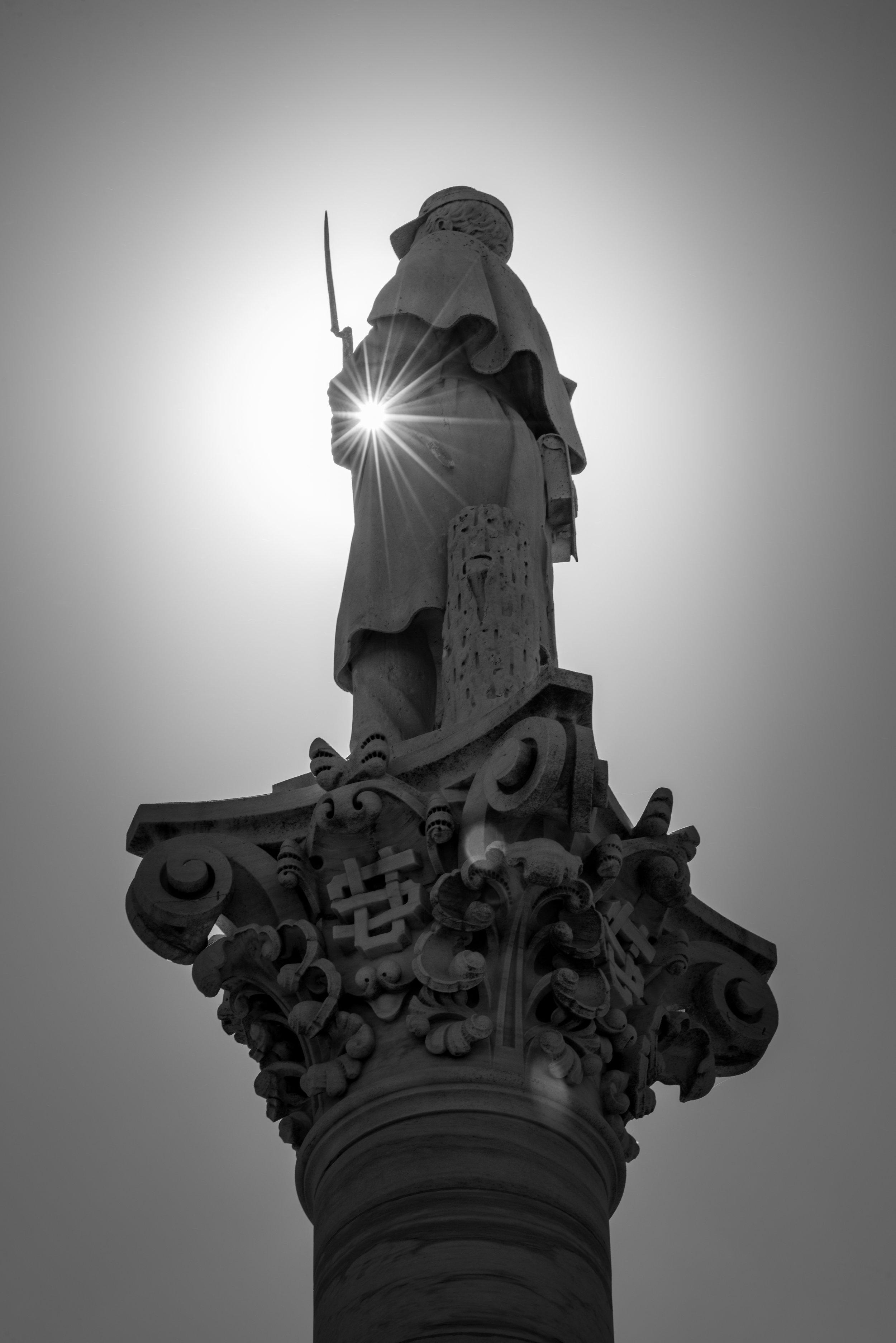 Dayton VA Center Statue
