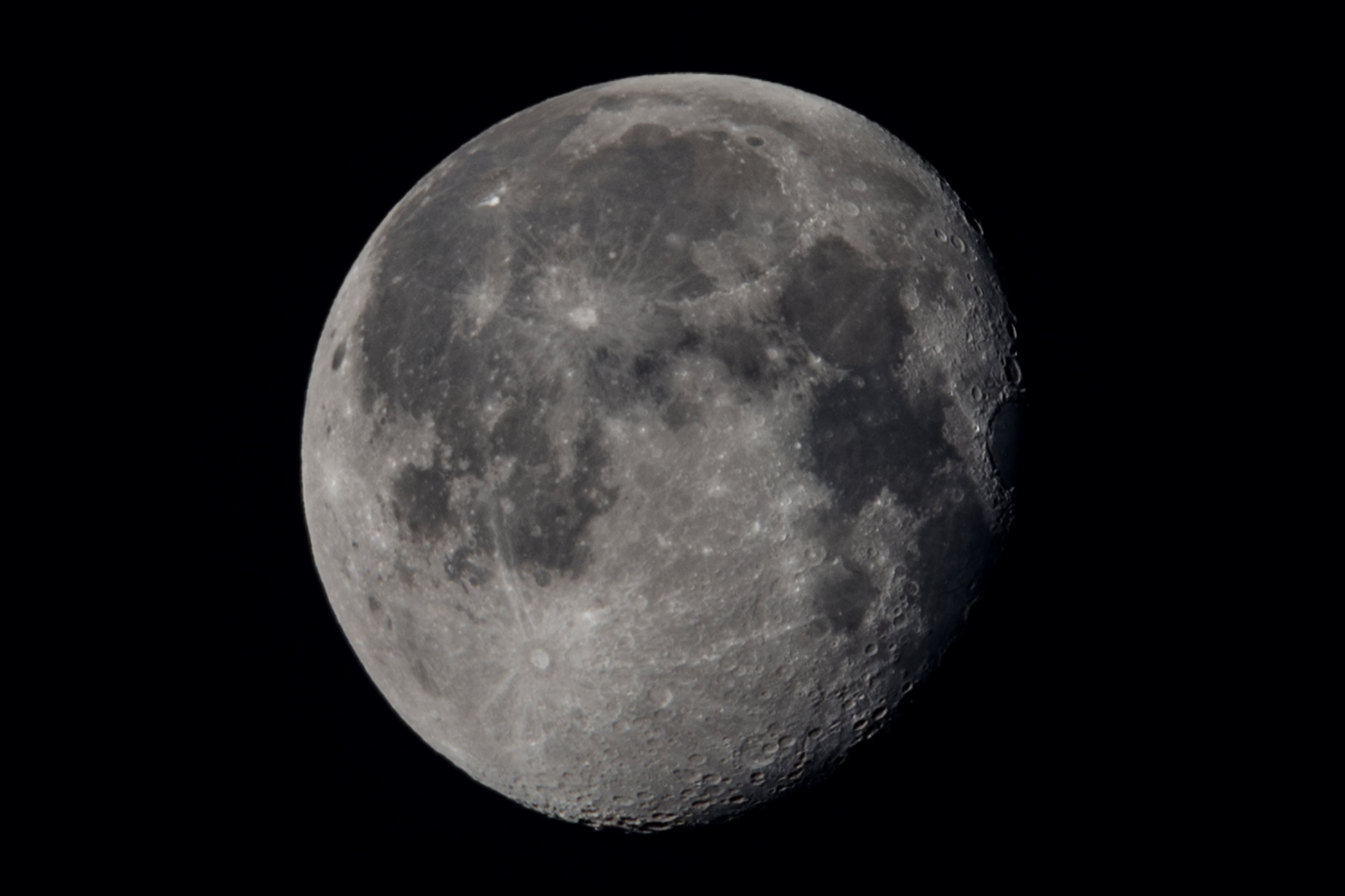 Moon - Single frame output