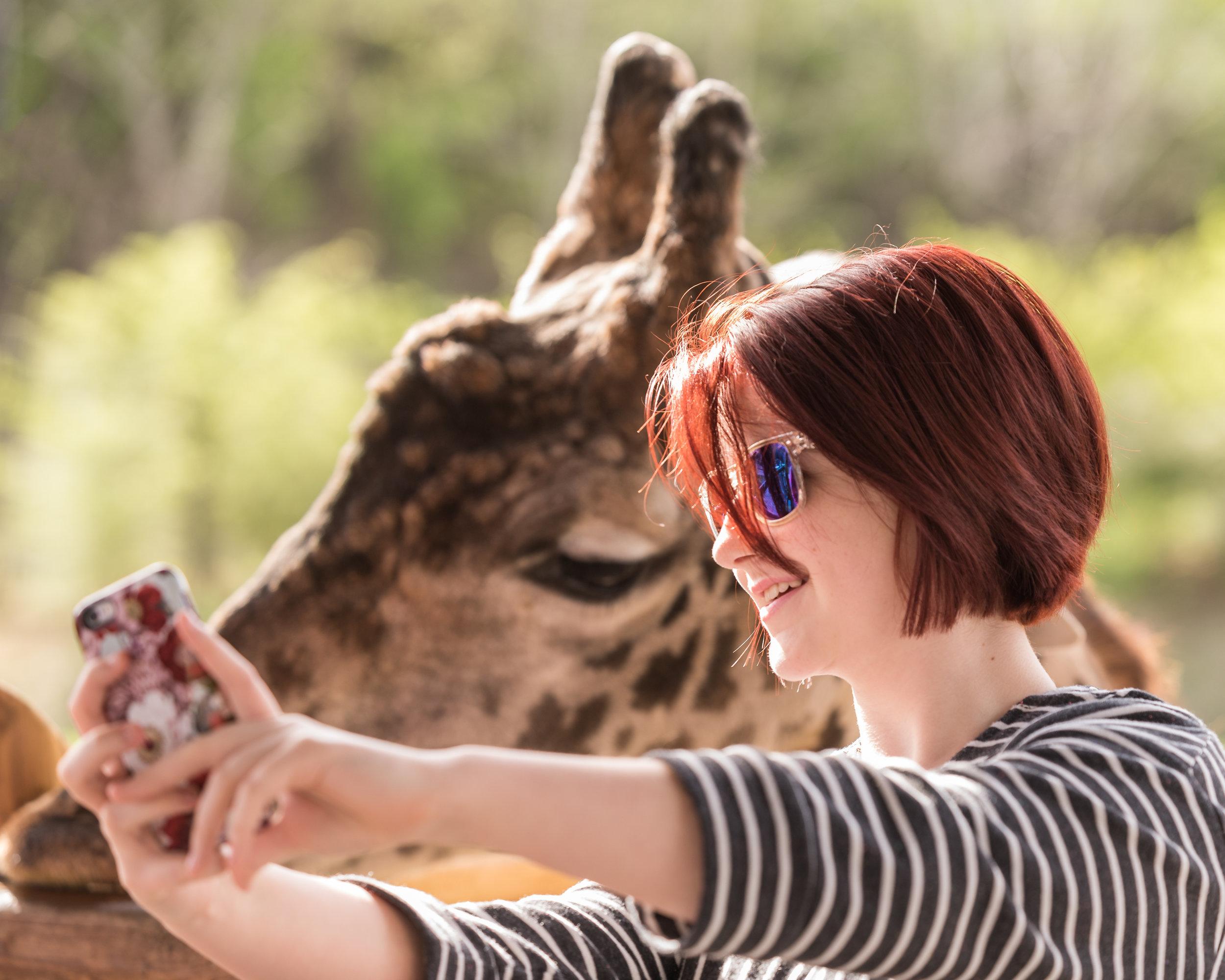 Emma and the Giraffe