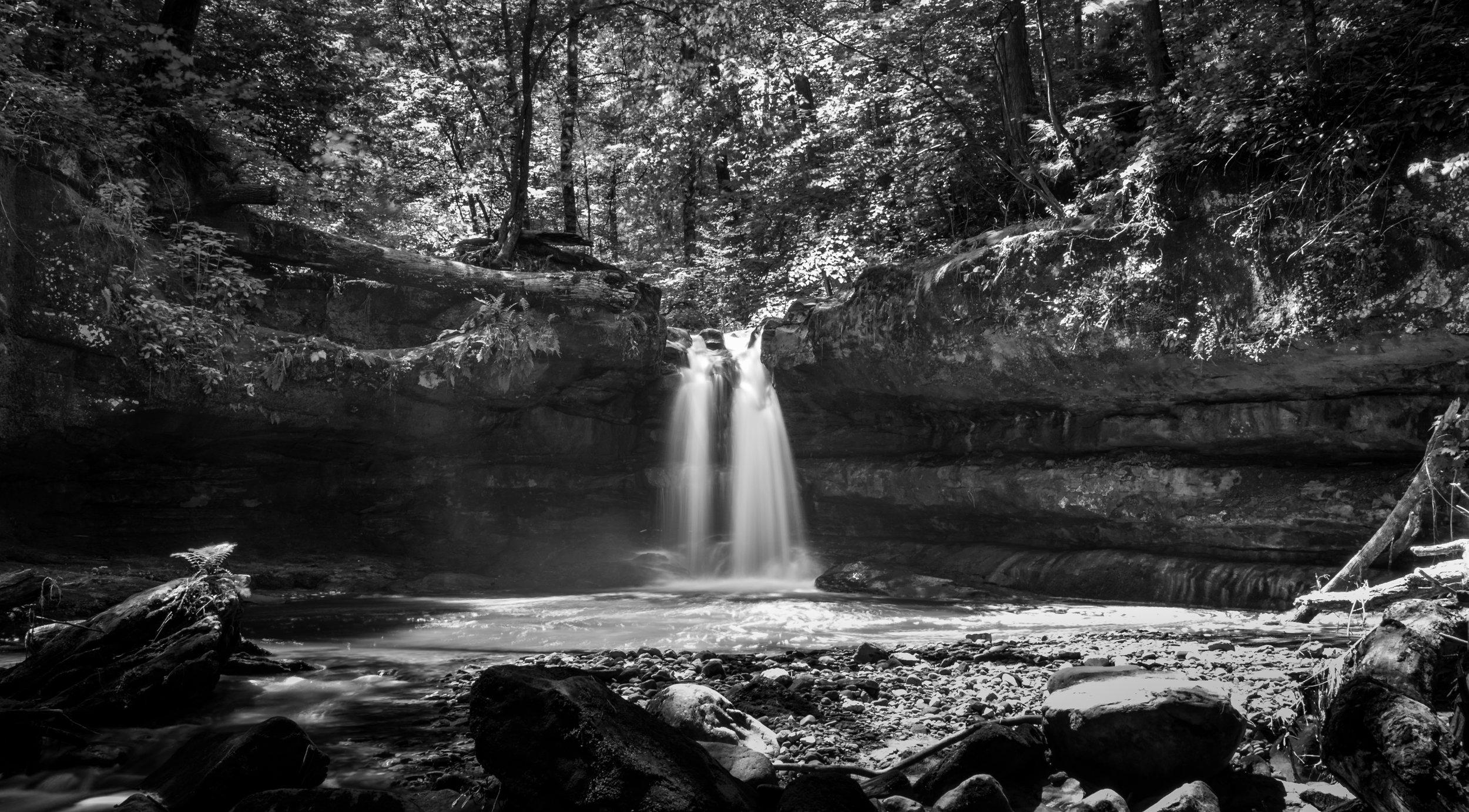 Flemings Falls - Camp Mowana (Mansfield, Ohio)