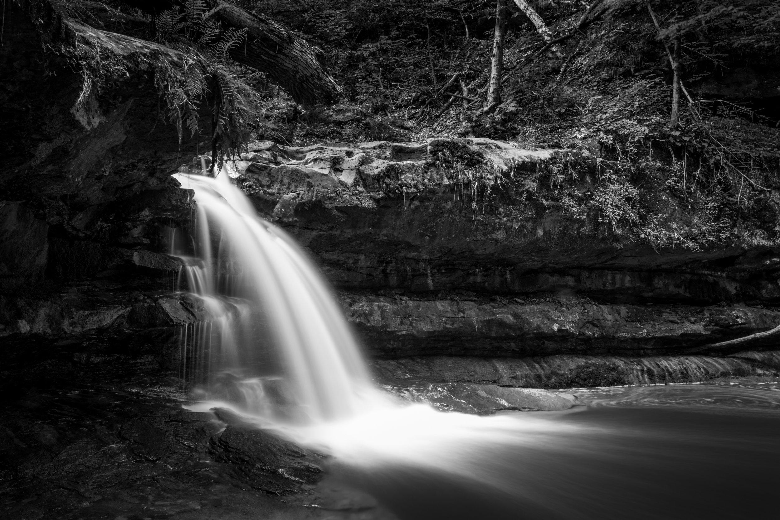 Flemmings Falls - Camp Mowana (Mansfield, Ohio)