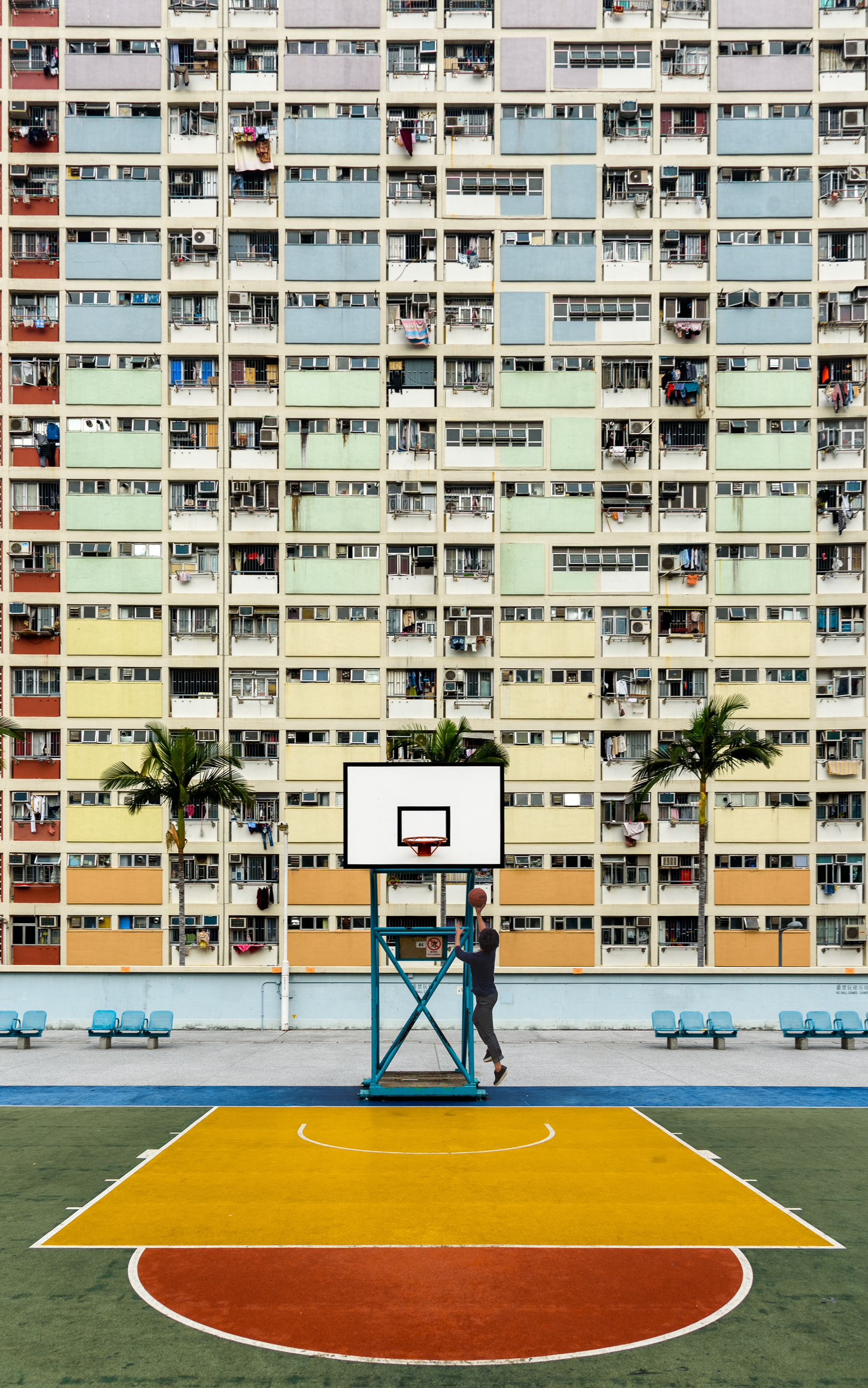 Choi Hung Estate Basketball