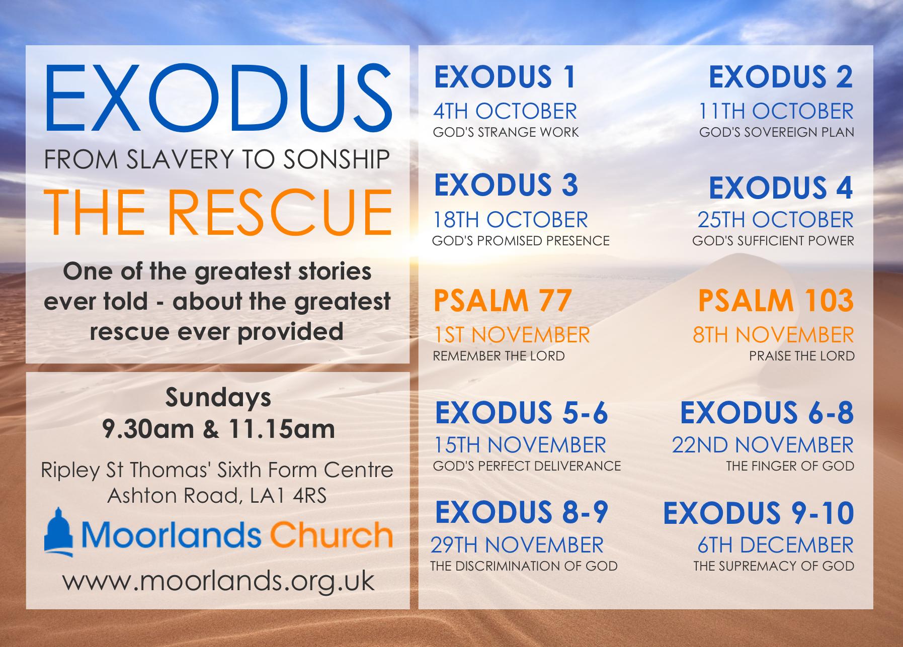 Exodus Term Card