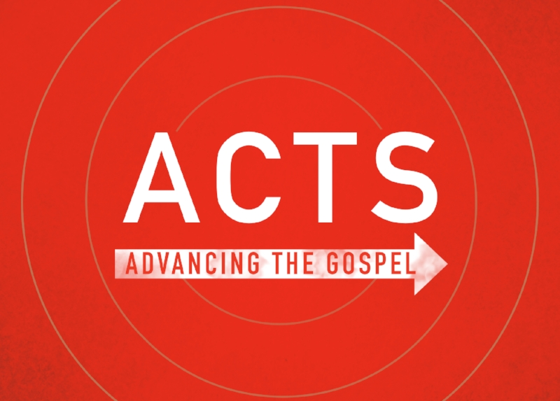 Acts Flyer Front