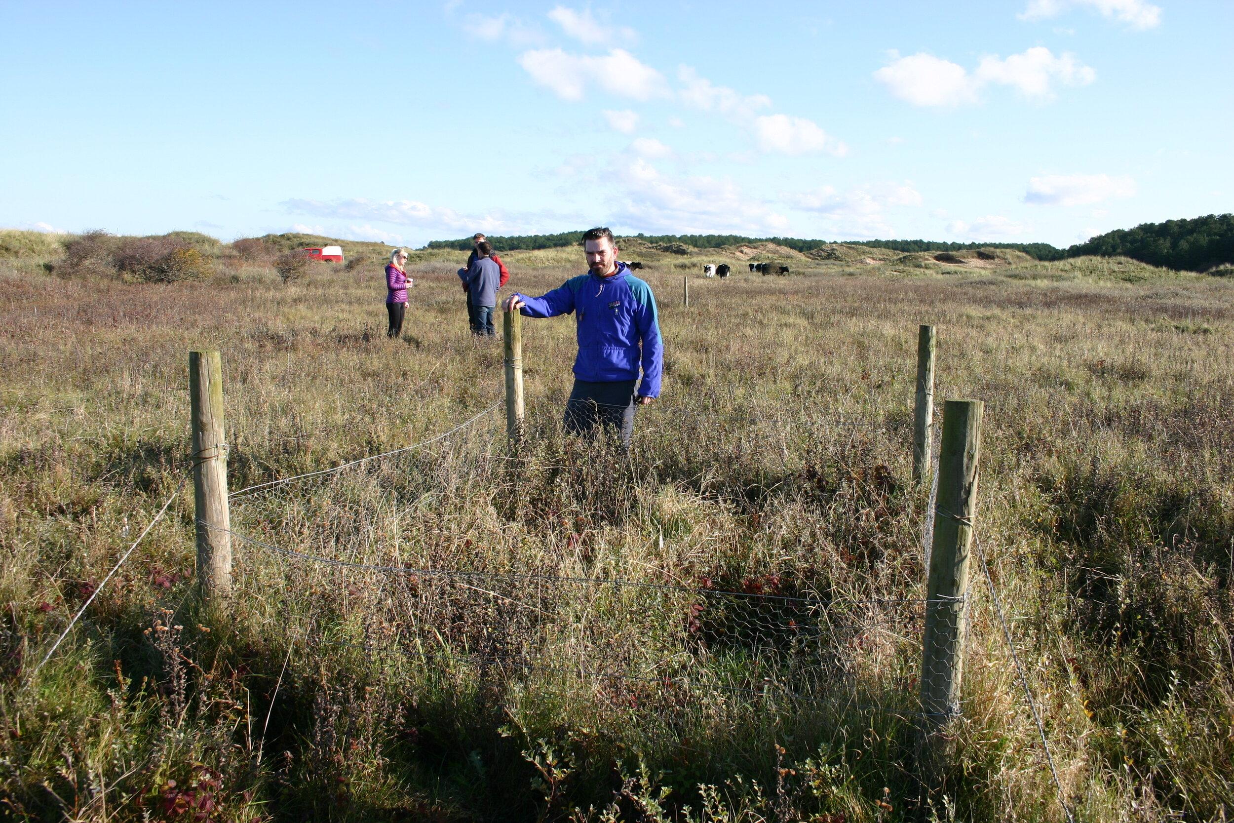 jon millett was the invited speaker at our august webinar on the ainsdale dune slacks Lte in west lancashire