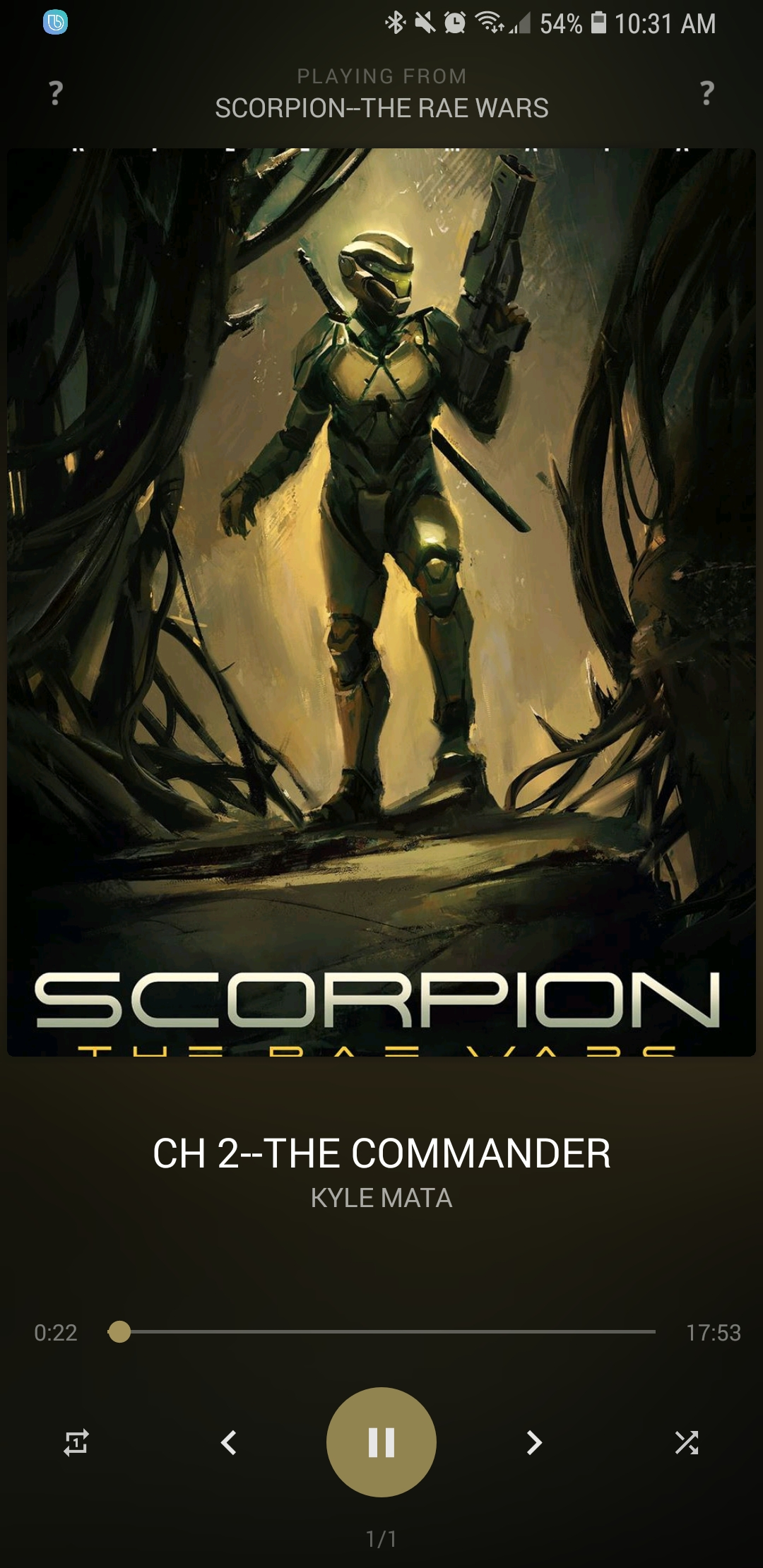 SCORPION: THE RAE WARS - Now Available on AUDIBLE.COM!